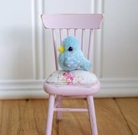 A Tiny Handmade Bluebird