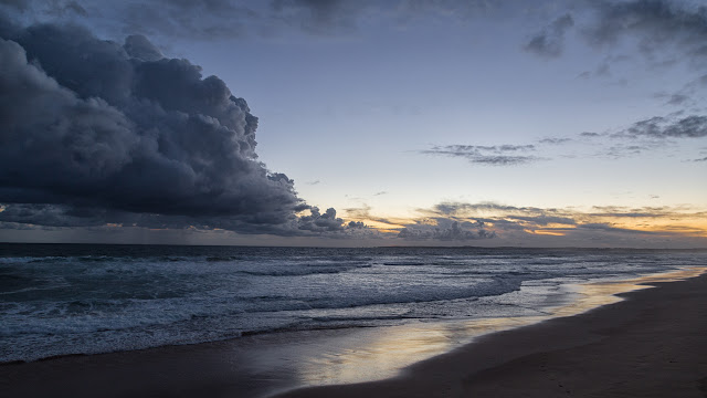 woolamai surf beach at sunset