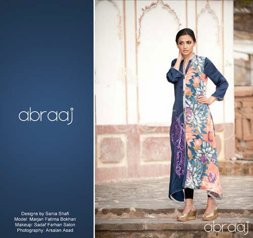Abraaj Letest Spring Summer Collection 2013-2014 For Girls & Womens By Fashion She9