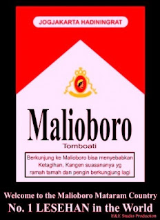 plesetan rokok