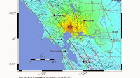 Earthquake struck the San Francisco Bay