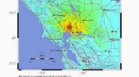 Earthquake struck the San Francisco Bay