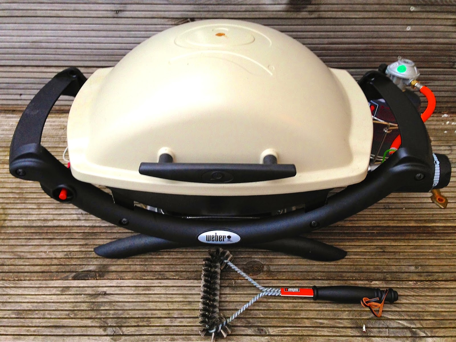 portable Weber grill