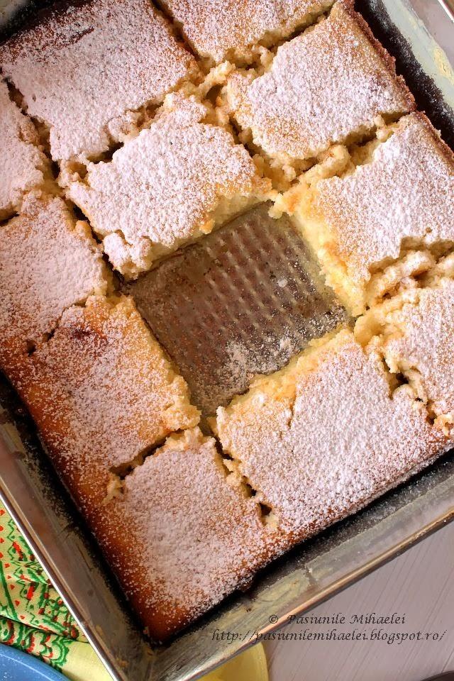 Prajitura cremoasa cu lamaie / Lemon pudding cake