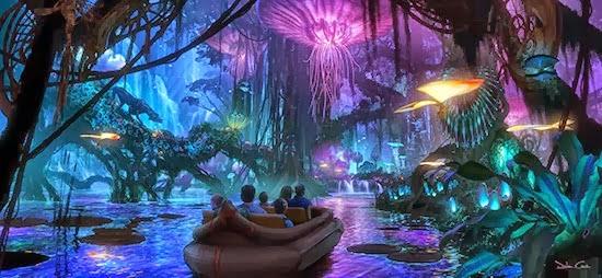 Parque de Atracciones de Avatar de Disney