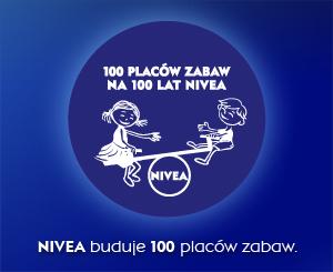 100 placów zabaw na 100 lat NIVEA i KONKURS DLA CZYTELNIKÓW