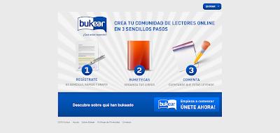 Bukear: Comunidad de lectores online