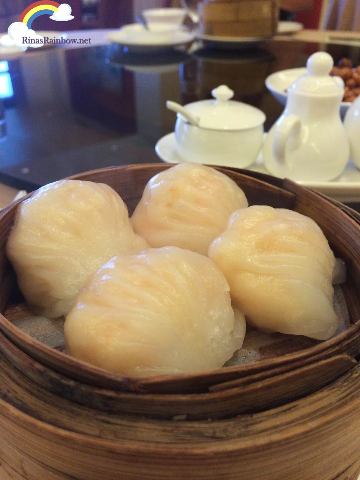 Crystal prawn dumpling hakao