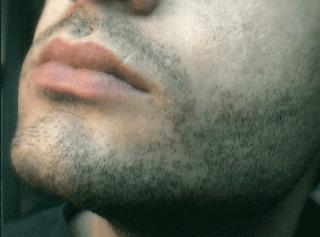 Men with Designer Stubble Beard