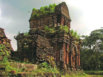 My Son - Sanctuary and ruins of My Son near Hoi An - Vietnam
