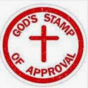Jesus Approved New Blog Badge