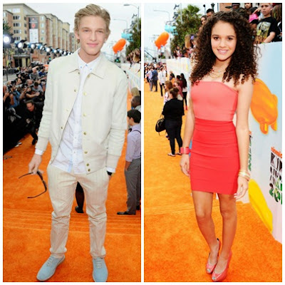 Cody Simpson and Madison Pettis 2012