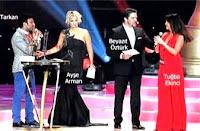 Tarkan, Arman, Ozturk and Ekinci on stage