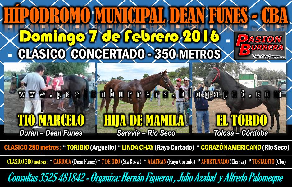DEAN FUNES - 7 DE FEBRERO 2016