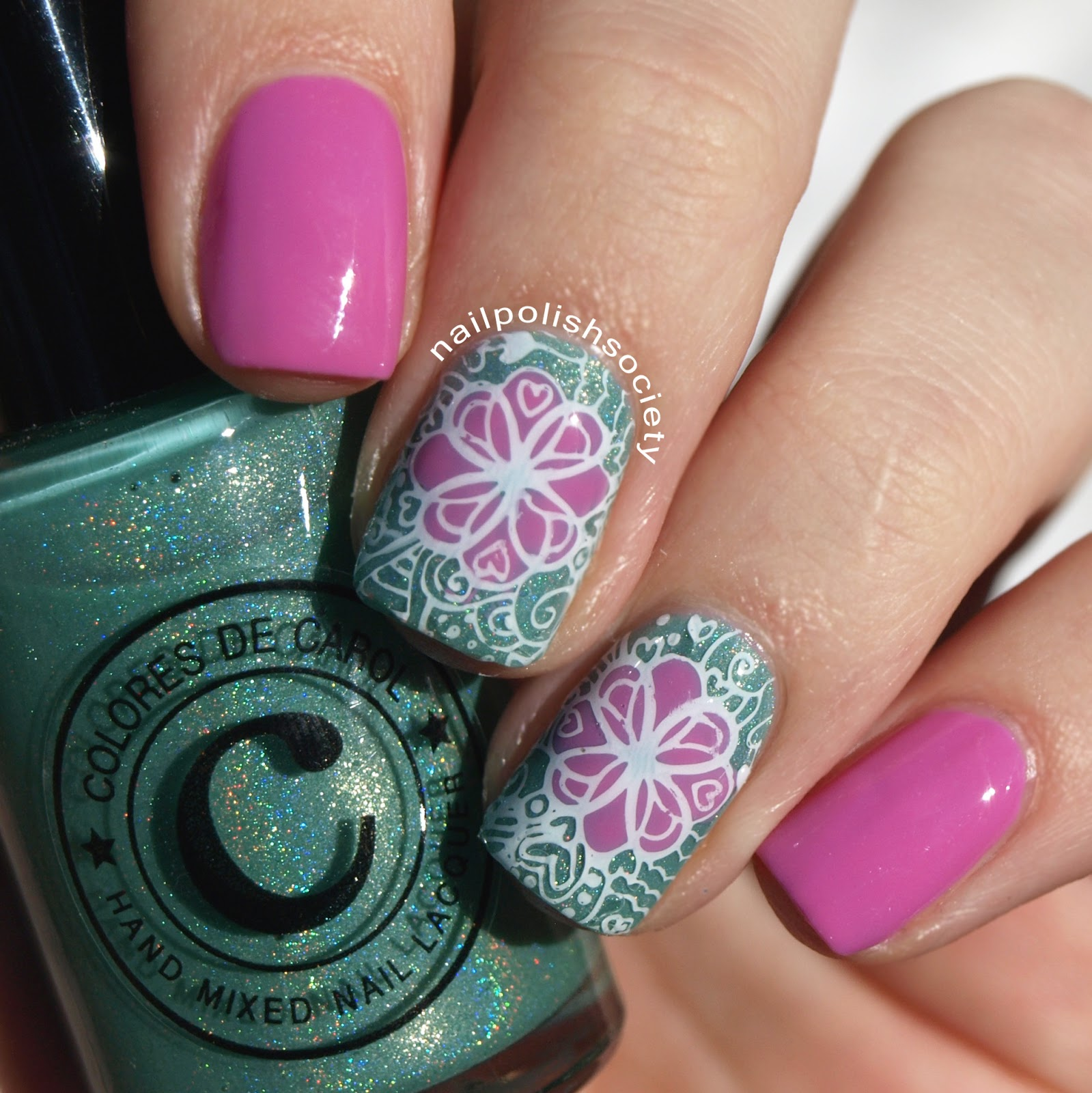 Nail Polish Society: Reverse Stamping With Bundle Monster and ...