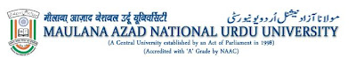 Result 2013 Maulana Azad National Urdu University