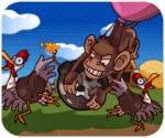 Khỉ đột nóng tính, game van phong