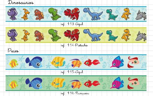 Redecorarte cenefas infantiles autoadhesivas - Cenefas infantiles para imprimir ...