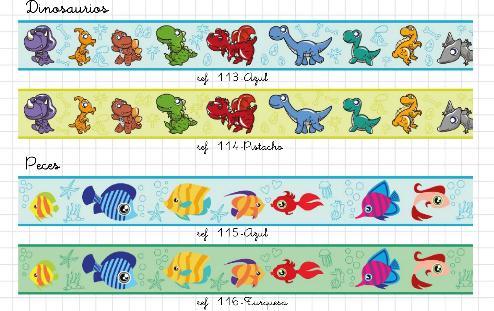 Redecorarte cenefas infantiles autoadhesivas - Cenefas decorativas para imprimir ...