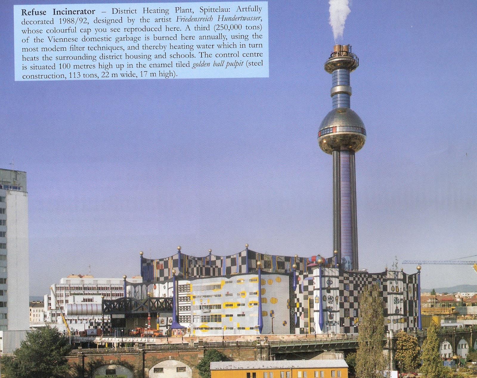 Refuse Incinerator,Vienna