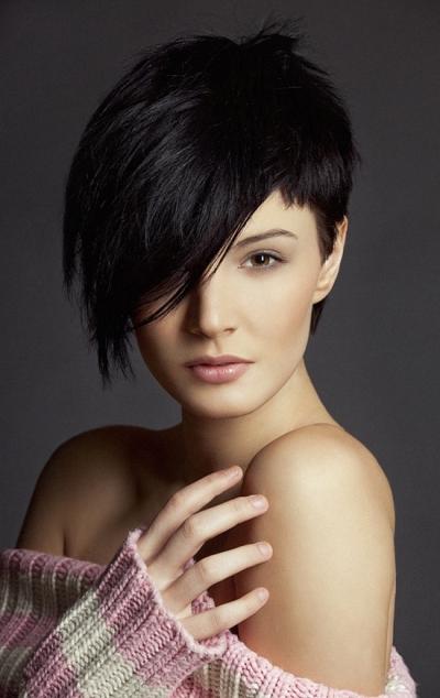 Peinados Y Tendencias De Moda Cortes De Pelo Corto Degradado