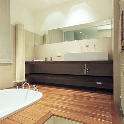 Baño Piso parquet
