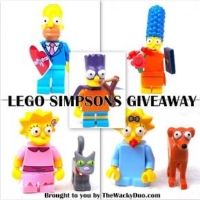 Lego Simpsons Giveaway