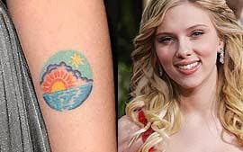 Tatuagens Femininas de Sol no Braço