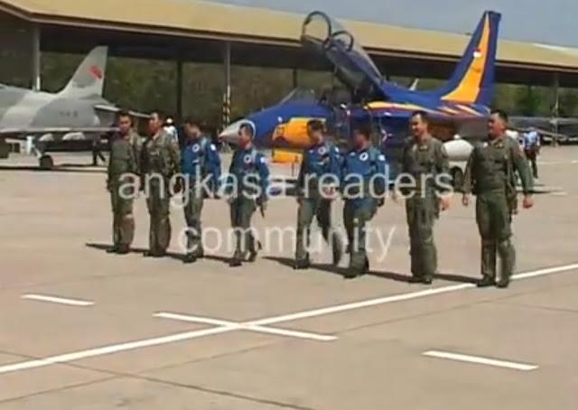 Pesawat Latih Lanjut T-50i Golden Eagle Tiba di Indonesia
