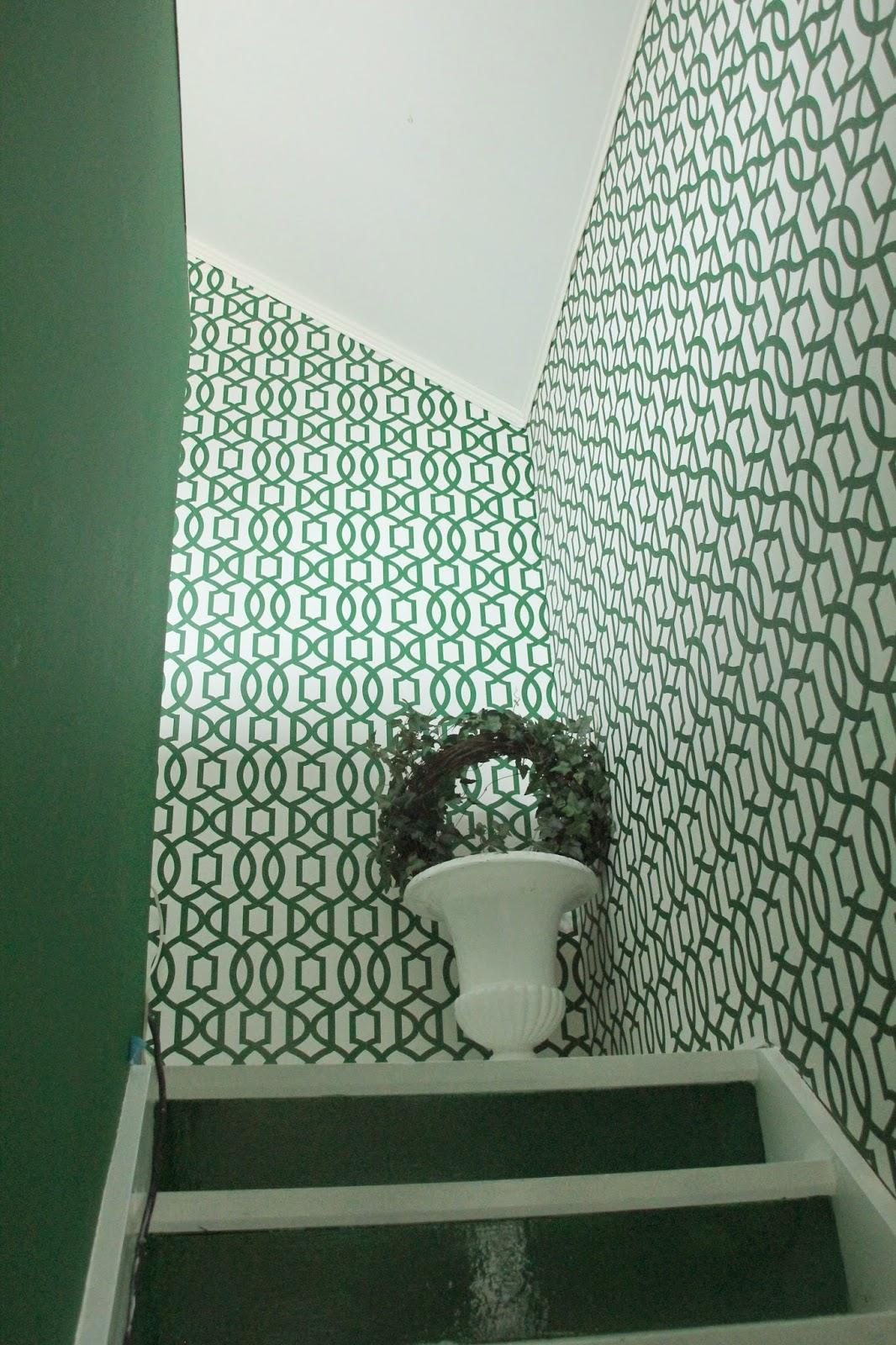 All of irina: før og etter bilder av trappa