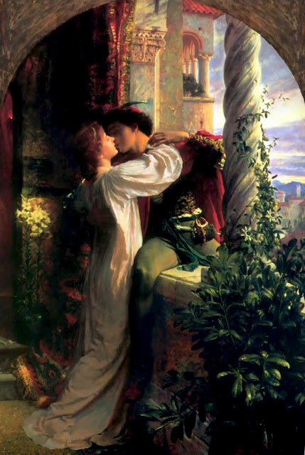 romeo and juliet,frank dicksee,shakespeare romeo and juliet