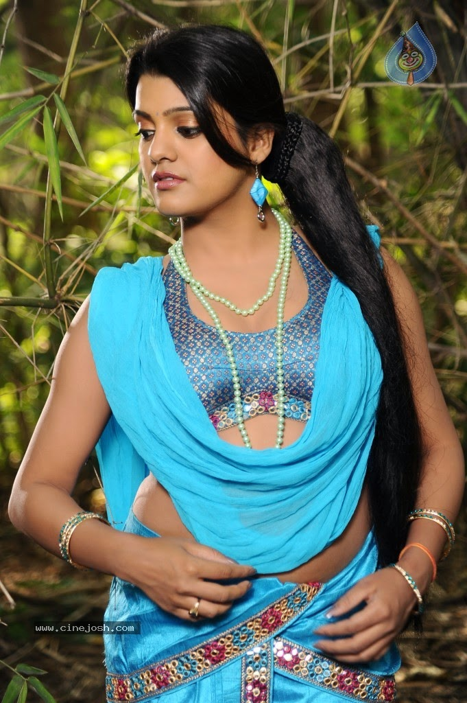 Tashu Kaushik Showing Her Armpit,Navel & Thighs In a Sleevless Blouse & spicy Saree