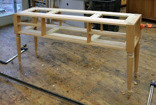 custom%2Bcherry%2Bconsole%2B1 a studio style console table