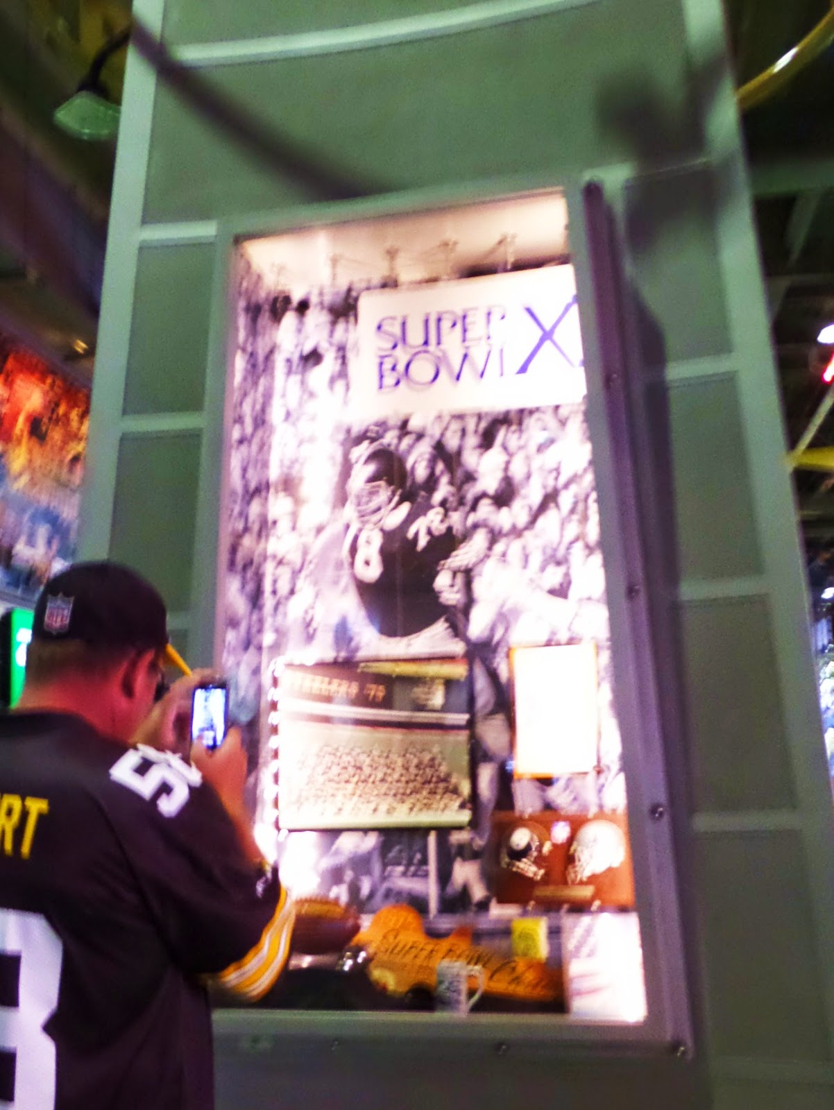 Super Bowl X Lombardi Case