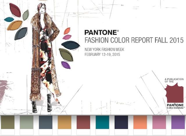colores pantone otoño invierno 2015