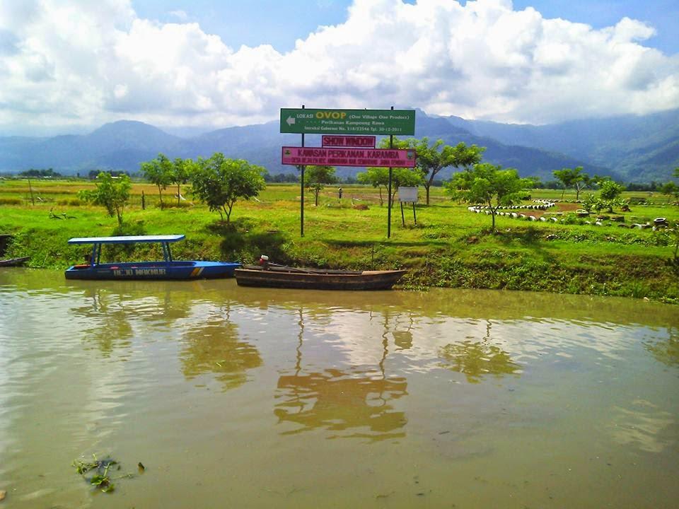 Pesona Wisata Kampoeng Rawa