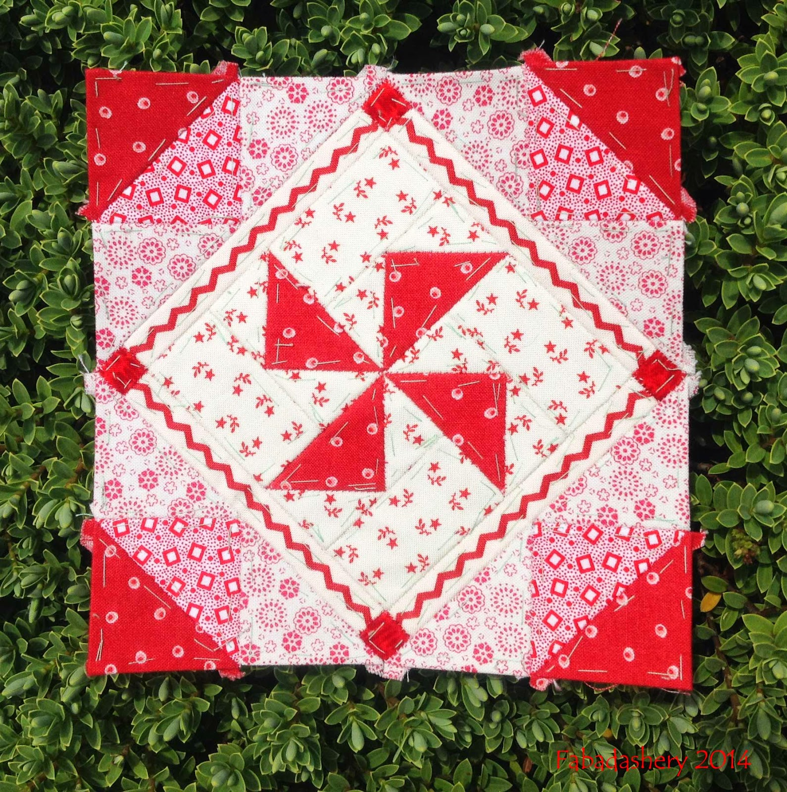 Nearly Insane Quilt - Block 32