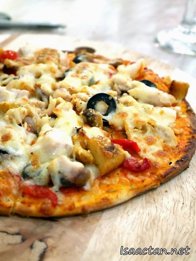 Mama Mia Pizza @ Chatz Brasserie Parkroyal Kuala Lumpur