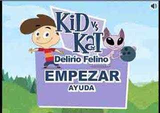 Trucos jugar Kid vs Kat delirio felino