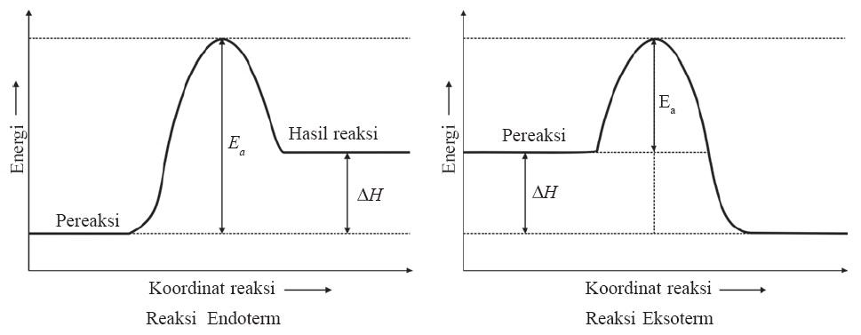 Faktor faktor yang mempengaruhi laju reaksi praktikum kimia energi pengaktifan dan energi yang dilepas eksoterm atau energi yang diserap endoterm ccuart Gallery