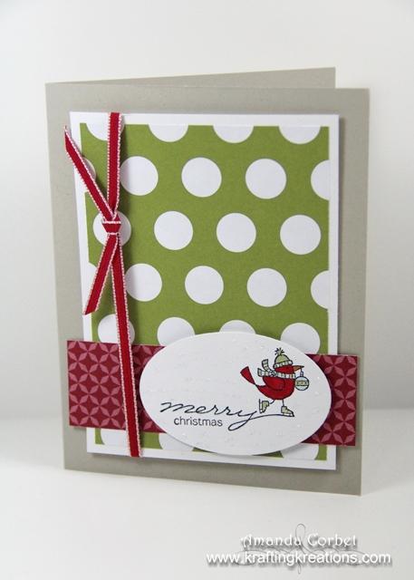 Skating Merry Christmas Card
