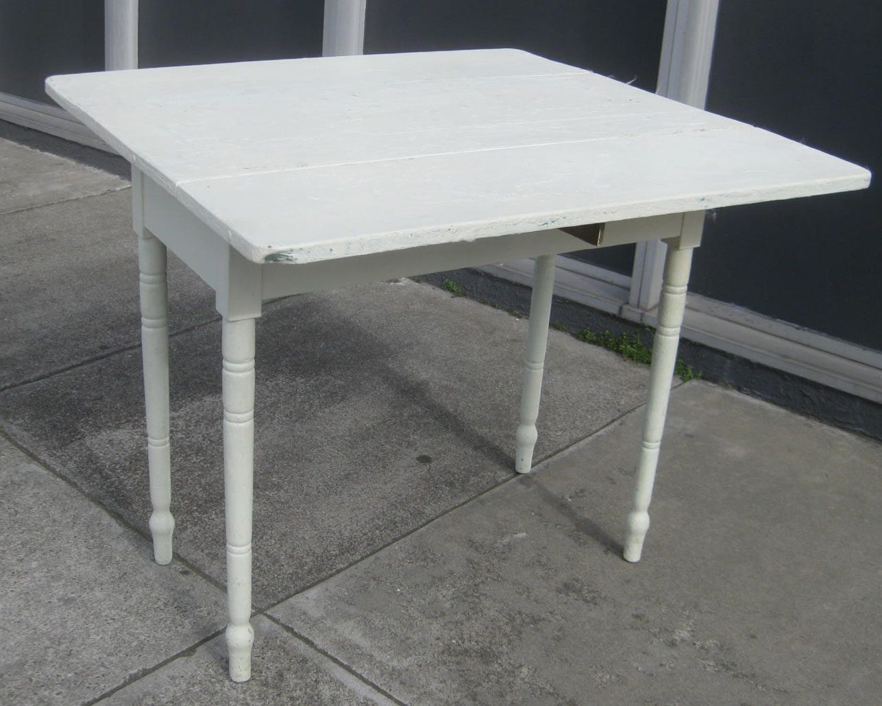 Uhuru furniture collectibles sold sweet drop leaf kitchen table 60 - Drop leaf kitchen table ...