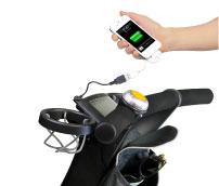 4moms Origami 電動摺疊嬰兒推車 自動發電