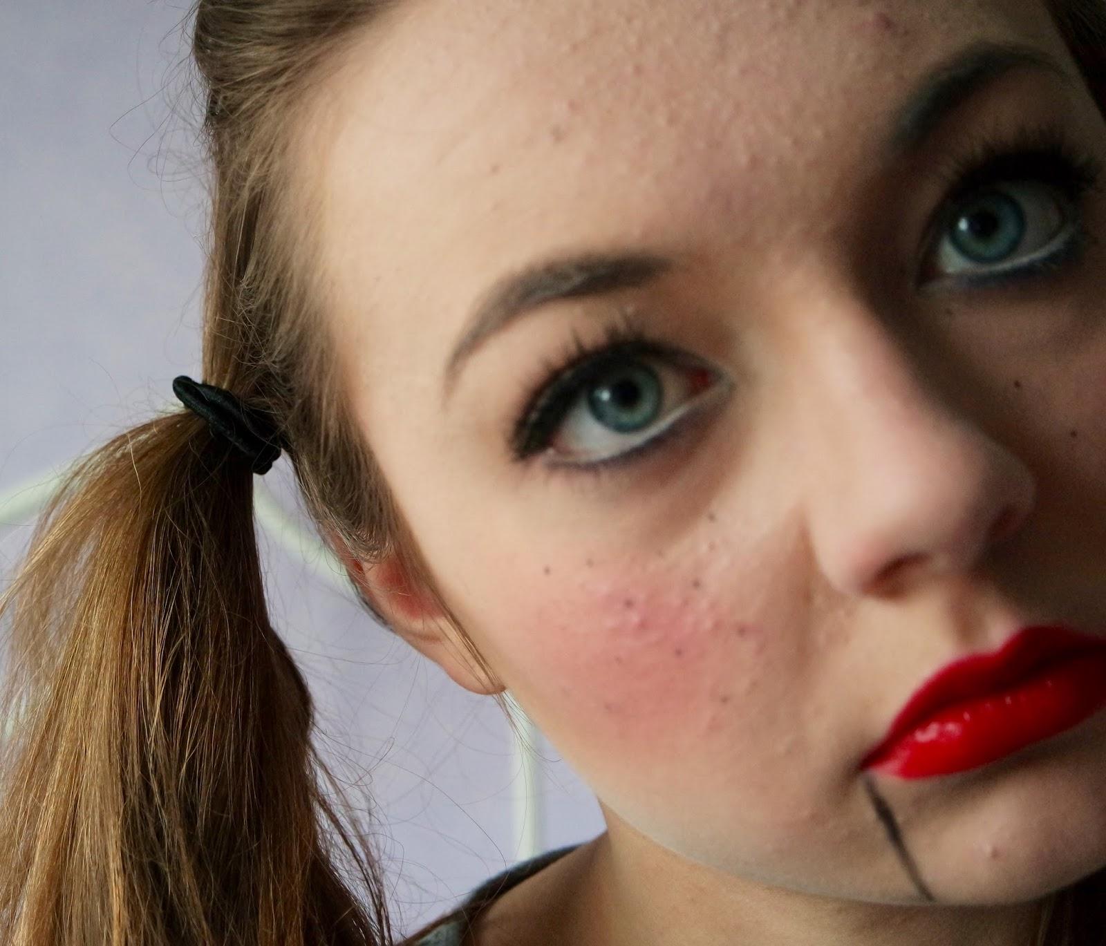 katie lou | beauty, fashion & lifestyle blog: scary halloween doll