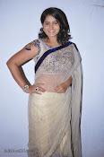 Actress Tanusha Photos in Saree at Present Love Audio-thumbnail-1