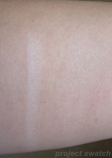 Shiseido High Beam White swatch