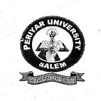 Periyar University Salem 2013 Exam Timetable