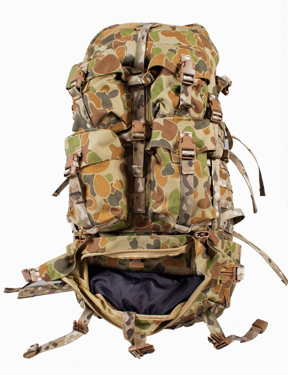 australia how to field pack army