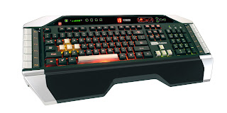 Saitek Cyborg Gaming Gear Keyboard Custom Gamer HD Wallpaper