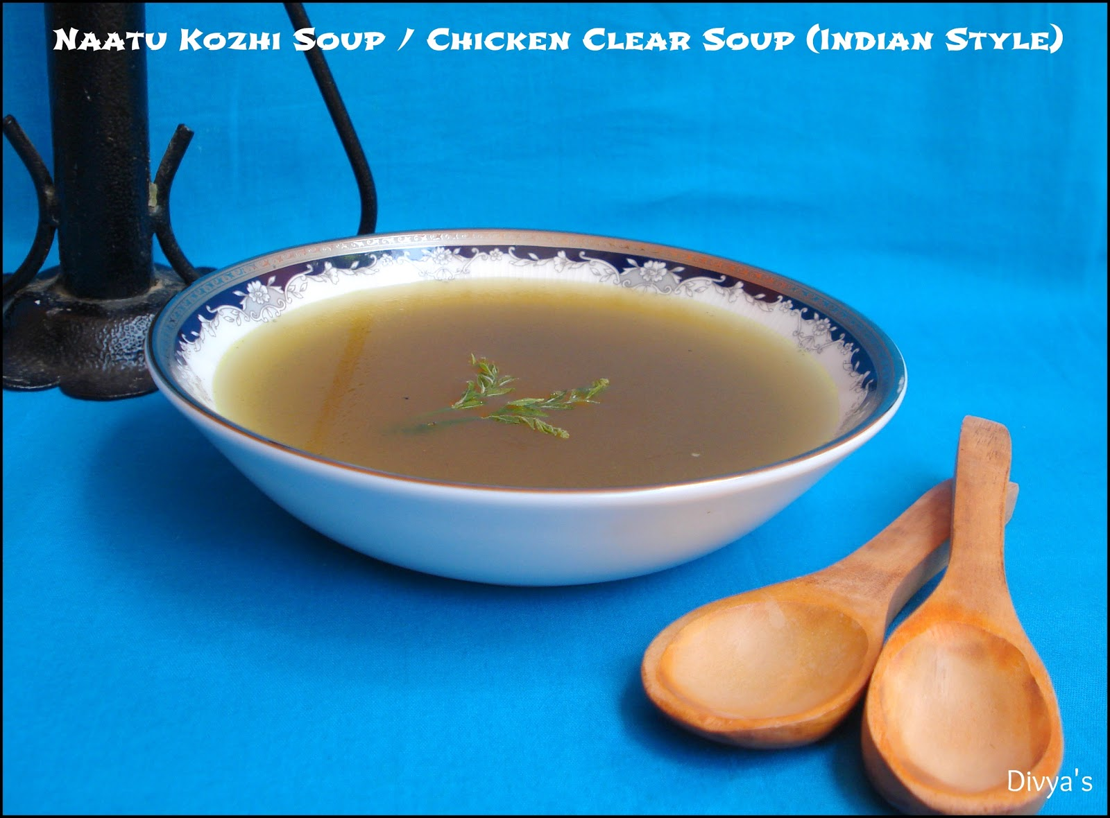 how to make chicken soup indian style